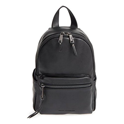 french-connection-womens-perry-faux-leather-mini-backpack-black-medium