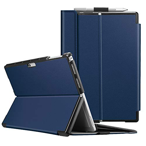 (Fintie Protective Case for Surface Pro 6 - Multiple Angle Hard Shell Business Cover, Compatible with Type Cover Keyboard for Microsoft Surface Pro 6 / Surface Pro 5 / Surface)