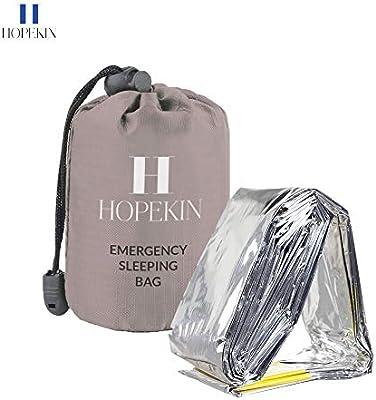 Amazon.com: HOPEKIN saco de dormir compacto de supervivencia ...