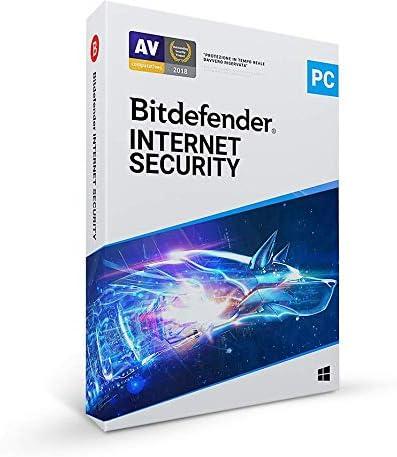 Bitdefender Internet Security 2021   1 dispositivo   1 año   PC  ES