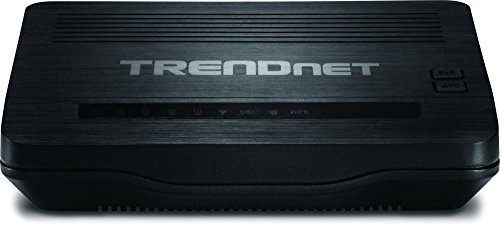 (TRENDnet N150 Wireless ADSL 2+ Modem Router, Compatible with ADSL 2/2+ ISP, TEW-721BRM (Renewed))
