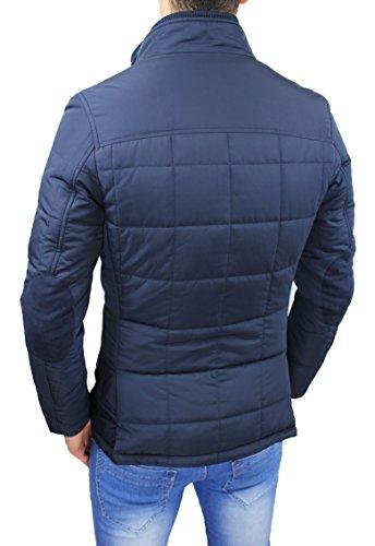 Giubbotto Piumino Sartoriale Elegante Blu Con Uomo Interno Invernale Gilet  Giacca Cappotto Casual gOrqgBxw c4d9adce8f61