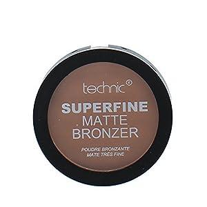 Technic Superfine Matte Powder Bronzer Compact 12g-Dark