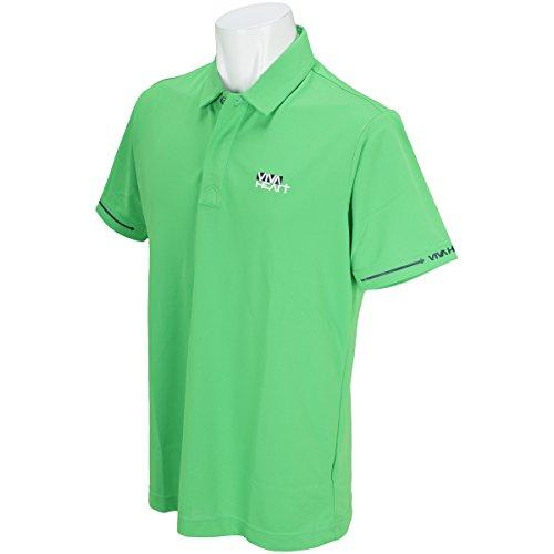 ビバハート VIVA HEART 半袖シャツ?ポロシャツ クールUV鹿の子 半袖ポロシャツ