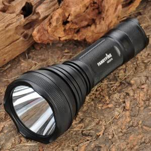 FandyFire HD2010 Cree XM-L T6 600LM 5-Mode White LED Flashlight Torch (1 x 18650)