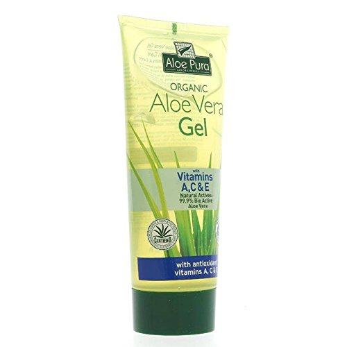 ALOE PURA - Aloe Vera Gel and Vitamins A,C,E - Perfume Free