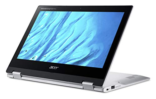 "Acer Convertible Chromebook Spin 311, 11.6"" HD IPS Touch, MediaTek MT8183 Processor, 4GB RAM, 32GB eMMC, Chrome OS, Silver, CP311-3H-K4S1"