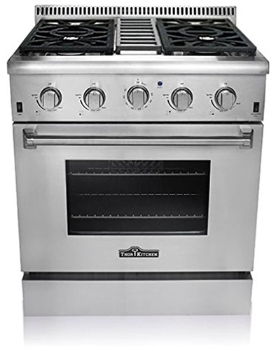 thor-kitchen-hrg3031u-professional-style-stainless-steel-gas-range-30w