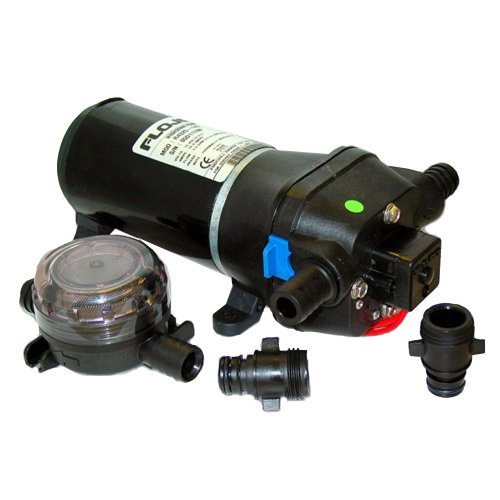 Flojet Heavy-Duty 12V Deck Wash Pump, 40 Psi
