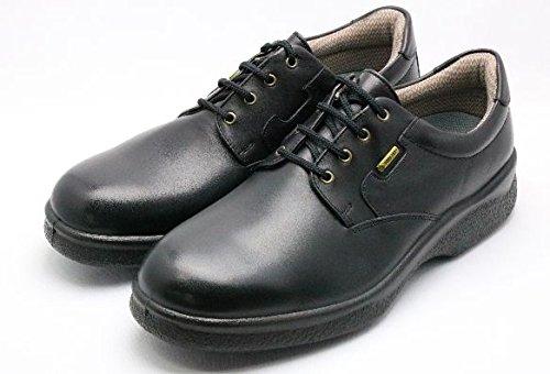 通勤快足 TK32-48 ブラック(足囲4E) 雨に負けない爽快ビジネスシューズ 濡れない。蒸れにくい。滑りにくい。男性用デザイン。 B07B3N58GF 25.5 cm