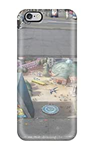 Defender Case With Nice Appearance (sidewalk Art ) For Iphone 6 Plus