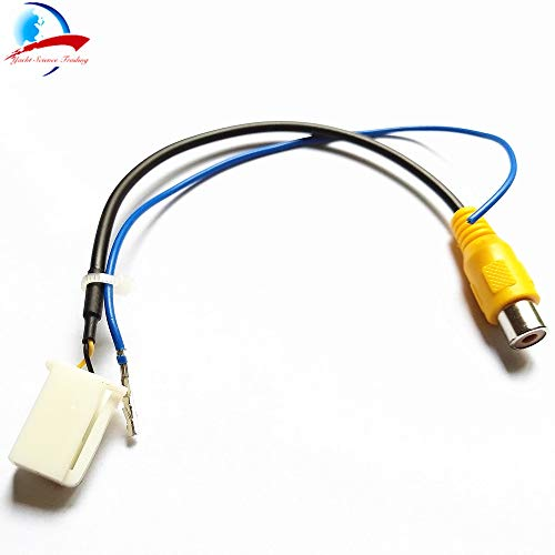 Davitu Video Input Switch RCA Adapter Connector Convertor Wire Cable For Mazda CX-5 CX5 CX 5 2013 2014 Rear View Camera adapter