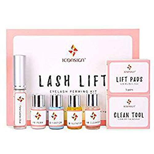 WISREMT Professional Lash Lift Kit, Kit de cils Perm, Extensions de cils Lash Curling Lash Lifting Kit, Semi-Permanent Curling Perming Wave Convient pour le salon