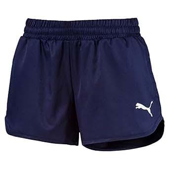 PUMA Women's Active Woven Shorts, Peacoat, XS
