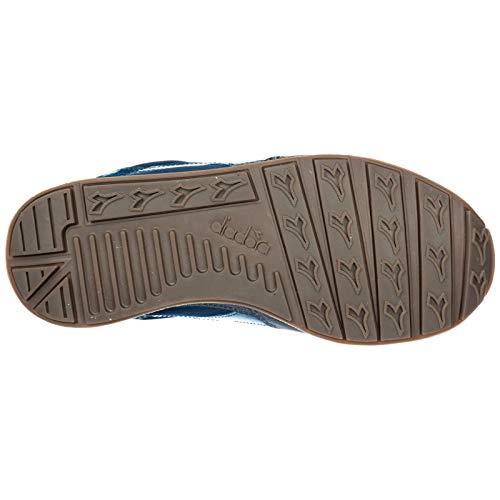 blu Diadora Femme Chaussures Sneakers Cuir en Baskets h Heritage Camaro PwqCnPO