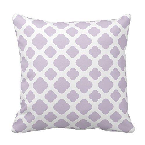 Chevron Pattern Quatrefoil Decoration Pillowcase product image