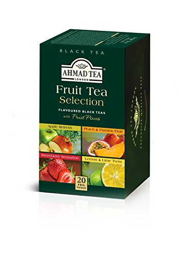 Ahmad Tea Fruit Tea Selection, 20-Count (Pack of 6)