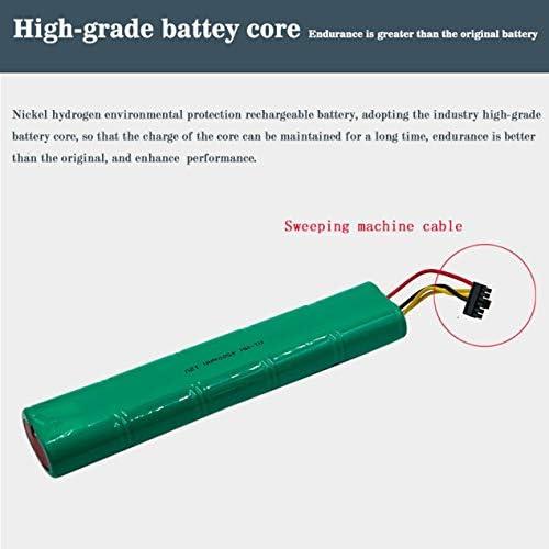 Dooret Palo sans Effet mémoire Recyclage 4500mAh 12V Batterie Rechargeable de Balai Convient pour Neato Botvac 70e/75/D75/D85