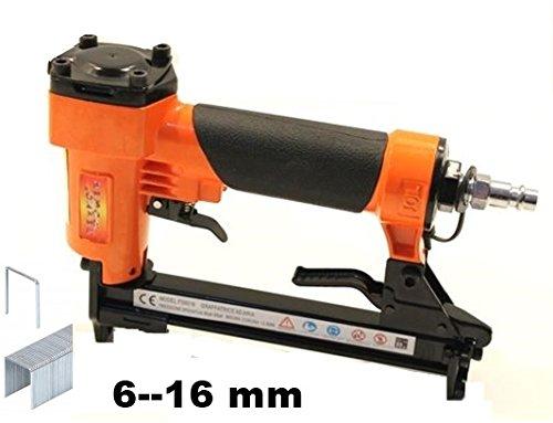 Grapadora de aire comprimido neumá tica 6 –  16 mm (sin clavos) TEKNOPOWER