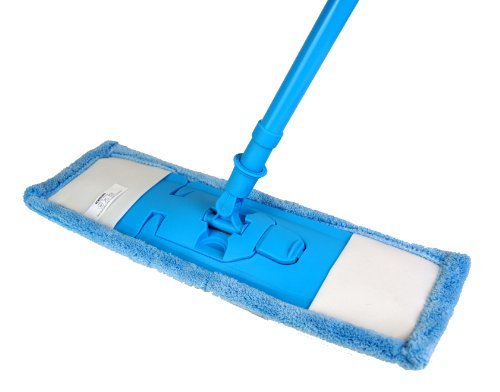 Extendable Microfibre Mop Cleaner Sweeper Wooden Laminate Tile Floor Wet...