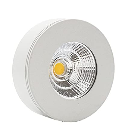 Lediary White Round Led Mini Downlight Ceiling Lamp Spotlight,5 W,Cool White With Led Driver Ac 90 260 V by Lediary