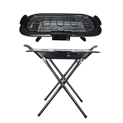 Electric Barbecue Grill, Indoor Barbecue Grill Portable Barbecue Electric Smoke-free Anti-scalding Voltage 200v
