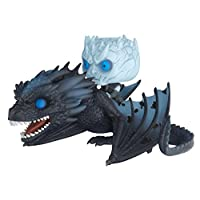 Funko Pop! Rides: Game of Thrones - Night King On Dragon Figura coleccionable