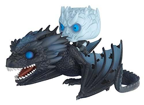 Funko Pop!-28671 Night King & Icy Viserion Rides Game of Thrones Viserion & Night King, Multicolor, Talla Unica