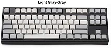 61-Key NPKC Blank XDA Keycaps ANSI ISO Layout 61 Keys/ 87 Keys 108 Keys Fit with MX Switches of Mechanical Keyboards