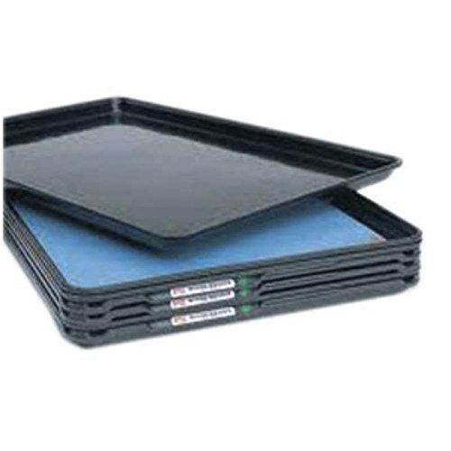 SmartTray, ESD-Safe Single Layer Vinyl Economy Tray Inlay for CBMTRAY, Blue, 16 x 24 x 1/8