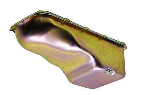 1959-81 Compatible/Replacement for PONTIAC 265-301-326-350-389-400-421-428-455 V8 OIL PAN - ZINC (Oil 400 Pan Pontiac)