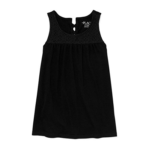 Price comparison product image The Children's Place Big Girls' Tank Top,  Black 97743,  S (5 / 6)