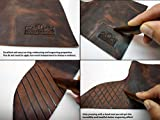 "Upon Leather - 2 Pre-Cut 10""x12"" Pull-Up Leather"