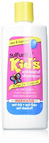 Sulfur8 Kids Medicated Anti Dandruff Shampoo, 7.5 Ounce