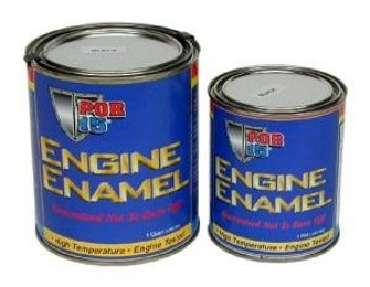 (POR 15 ENGINE ENAMEL PINT BLACK)