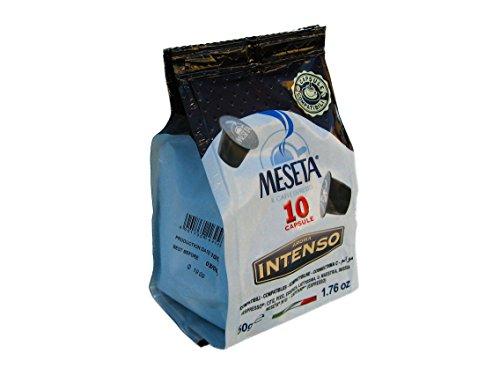 100 Nespresso Compatible Meseta Intenso Coffee Capsules . 100 Capsules of Gourmet Coffee Espresso Compatible with Nespresso Machine.