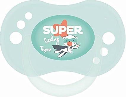 Tigex Sensitive - Pack de 2 chupetes para niños de más de 6 meses ...
