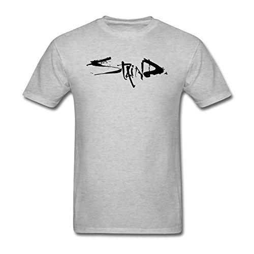 OPEND Men's Staind Logo T-shirt Grey S