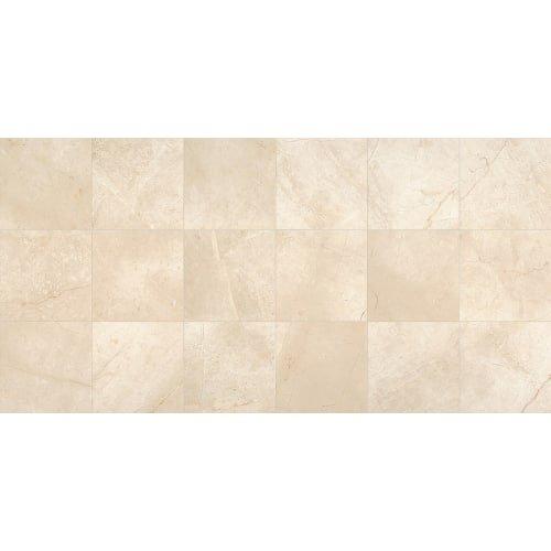 Dal-Tile M10718181L- Marble Tile, Phaedra Cream Polished -  Dal - Tile