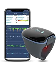 Wearable Oxygen Monitor Alarm, Free APP and PC Softare Oxygen Saturation Monitor for Sleep Apnea, Work with CPAP Machine