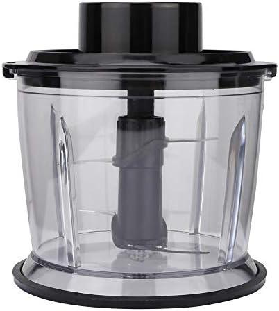 Stronerliuo Frullatore per smerigliatrice tritacarne automatico universale nero in acciaio inossidabile per carne, verdura e frutta con manuale utente Spremiagrumi EU