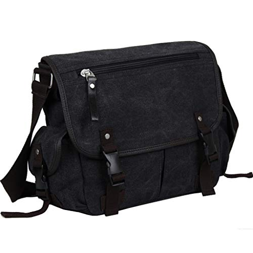 Canvas Messenger Casual Size 2 Rxf Bag color Shoulder Men's Vintage M 2 wHAOFxq1