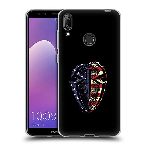 Official WWE American Pride Roman Reigns Soft Gel Case for Huawei Y7 (2019)