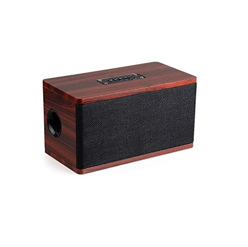 Ultra Bass Portable Bluetooth Dual Speakers (Red) Set Of 4 - 1