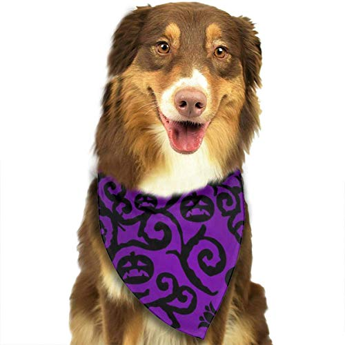 Pet Dog Bandana Scarf Pack Triangle Bibs Happy