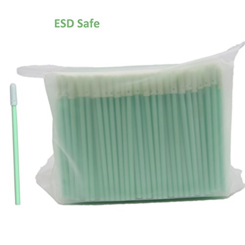 Cleanmo Electro Static Dissipative, Anti-Static Mini Tipped Swab, ESD Safe Cleaning for Sensitive Surface in Critical Environment, Pack of 500 swabs