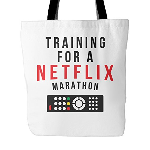 training-for-a-netflix-marathon-tote-bag-18-inches-x-18-inches