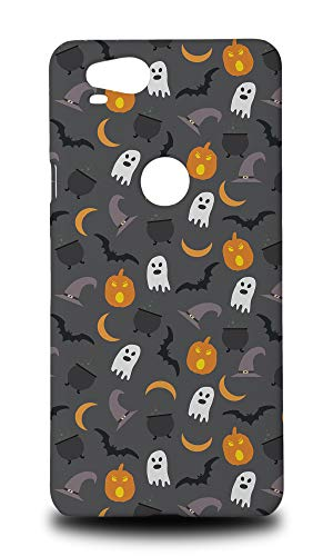 Halloween Pumpkin Ghosts Pattern Hard Phone Case Cover for Google Pixel -