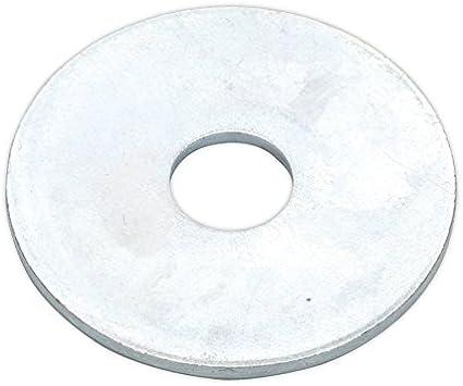 25 Réparation Rondelles M12 x 50 mm x 1.5 mm Zinc Plaqué