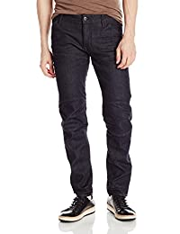 G-Star Mens 5620 Deconstructed 3D Low Tapered Cerro Stretch Jean Raw